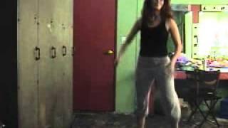 "Practicing Jordan Johnson's ""Home Tonight"" Choreography"