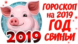 Гороскоп на 2019 год 🐷 Aстрологический прогноз на 2019 год