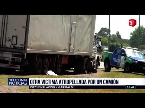 Un camión atropelló y mató a un ciclista en la Av. Circunvalación