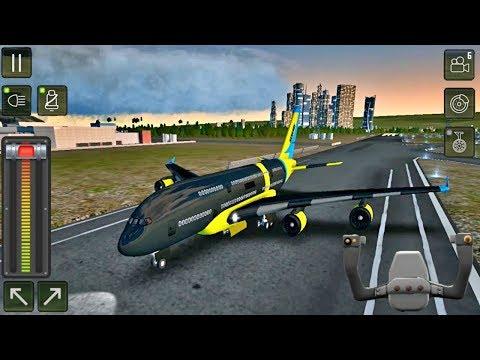 Flight Sim 2018 #84 - Airplane Simulator - Black Angel Charter Airplane Unlocked - Android Gameplay