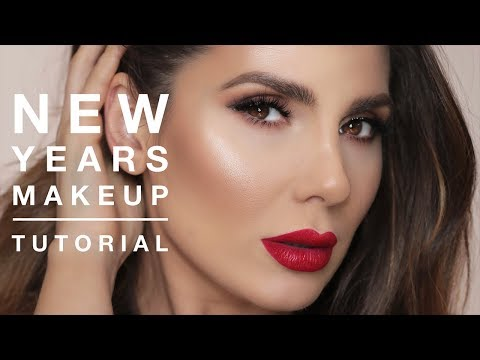 NEW YEAR'S EVE MAKEUP TUTORIAL | ALI ANDREEA
