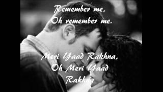 Gambar cover Mere Yaad Rakhna ( Remember Me) by Adnan Sami.wmv