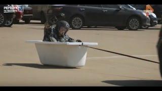 Краш-тест ванны ALPEN на канале РенТВ!