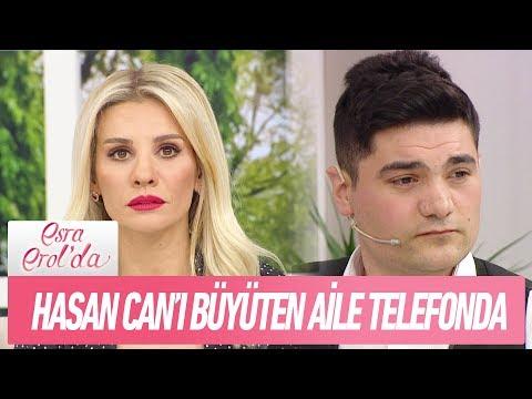 Hasan Can'ı büyüten aile telefonda - Esra Erol'da 19 Şubat 2018