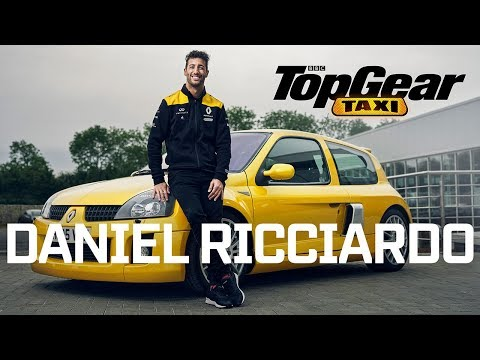Image: WATCH: Daniel Ricciardo drives a Renault Clio V6