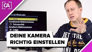Kamera richtig einstellen - Nikon Wiedergabe-Menü erklärt / caphotos.de