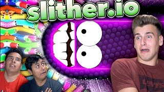 We Got To The Impossible Level! (Slither.io)