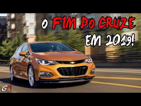 CHEVROLET ANUNCIA O FIM DO CRUZE PARA 2019!!!