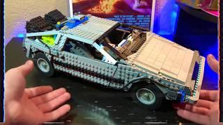 Lego Aston Martin DB5 Timelapse Build