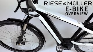 RIESE & MULLER - 2018 New Charger GH Nuvinci E-Bike