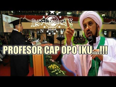 Habib Taufik asseqaf geram atas keputusan NU yang tak ikut sesepuhnya