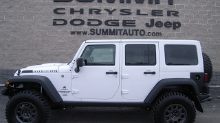 SOLD! 6J245A 2016 JEEP WRANGLER UNLIMITED RUBICON AMERICAN EXPEDTION VEHICLES www.SUMMITAUTO.com