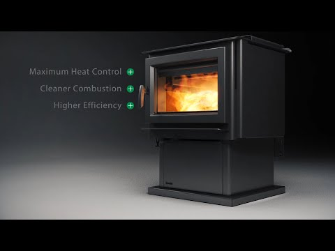 Regency Pro-Series Triple Stage Burn Wood Stove For Australia Mp3