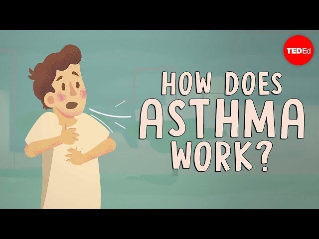 Видео Произношение Asthma в Английский