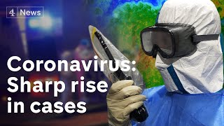 Coronavirus cases have risen sharply in China