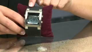 PEARL Quarz-Armbanduhr mit zauberhaftem LED-Farbspiel