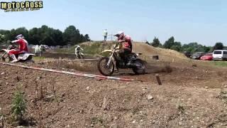 preview picture of video 'Motocross-Rennen Klasse MX 2/2 - 125 bis 250 ccm - MSC-Eichenried 2013'