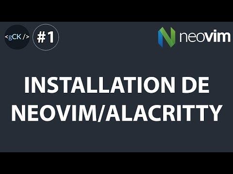 [1/??] Installation Neovim/Alacritty | Ma config perso Windows 10 | Neovim/Alacritty Windows 10 [1/??] Installation Neovim/Alacritty | Ma config perso Windows 10 | Neovim/Alacritty Windows 10