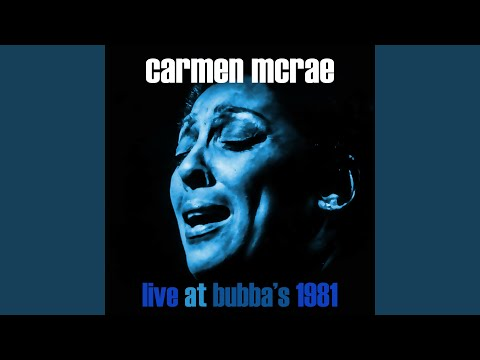 New York State Of Mind (Live at Bubba's Jazz Restaurant, Florida, 17/01/1981)