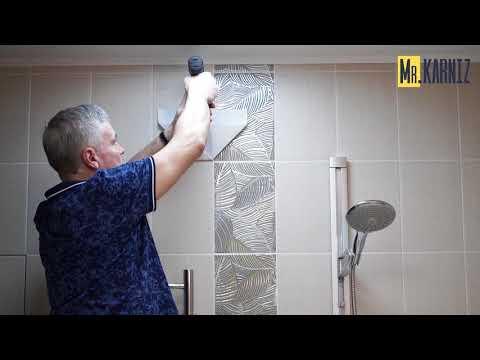 Как установить карниз для ванной комнаты MrKARNIZ