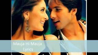 Jab We Met - Mauja Hi Mauja Lyrics - YouTube