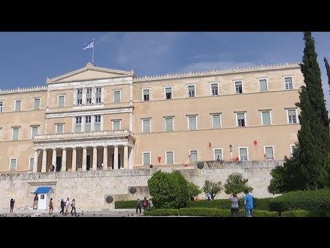 Ομόθυμη καταδίκη για την επίθεση του Ρουβίκωνα στη Βουλή