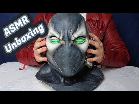 ASMR - Spawn Maske Unboxing (German/Deutsch)
