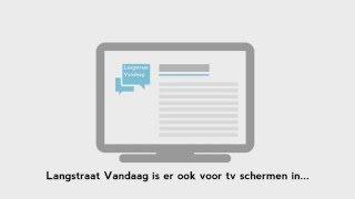 Start eenvoudig een eigen TV kanaal met Langstraat Vandaag!