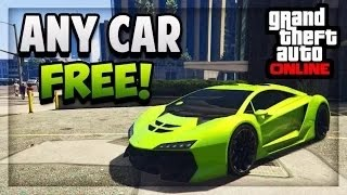 "GTA 5 Online - HOW TO GET ""ANY CAR"" FREE (Tutorial) [PS3,PS4,XboxOne,Xbox360]"