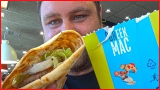 McDonald's Greek Mac Review - Trying Greek McDonald's for the first time 😀😀