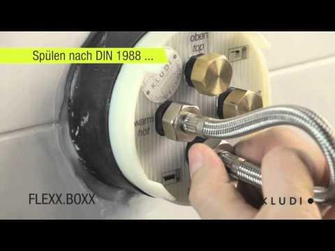 KLUDI FLEXX.BOXX: Eine Unterputzbox für alle Anwendungen