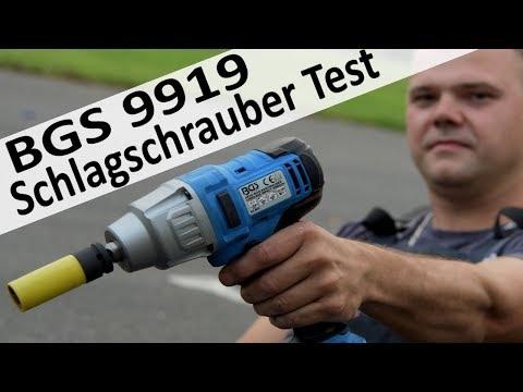 Review BGS Akku Schlagschrauber 9919