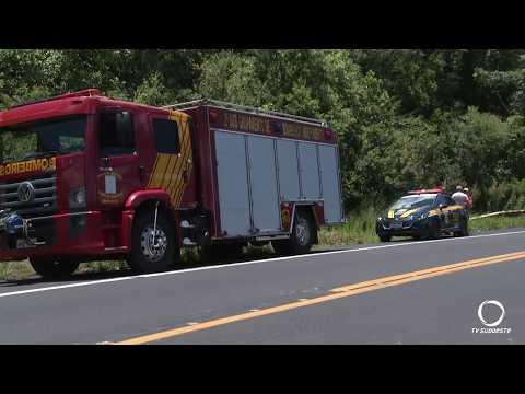 Motocilista morre carbonizado em acidente na BR 373