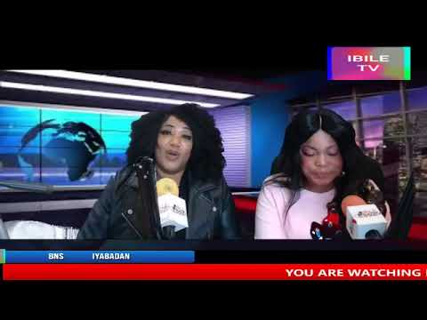 INTERVIEW WITH BNS PROMOTIONS (HOST) IYABADAN AUTHENTIC 14/4/19. 5515 EVENT