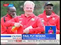 Harambee Stars coach Paul Put has resigned from his position three months after taking charge. In a