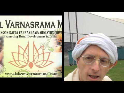 HG Mukunda Datta prabhu speaking on Varnasrama dharma