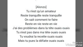 Alonzo  Amigo  Paroles Et Lyrics