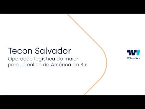 Operação logística do maior parque eólico da América do Sul