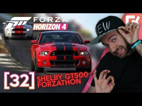 SHELBY GT500 FORZATHON! | Forza Horizon 4 #32