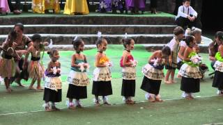 preview picture of video 'Laie Elementary May Day 2012 - Head Start'