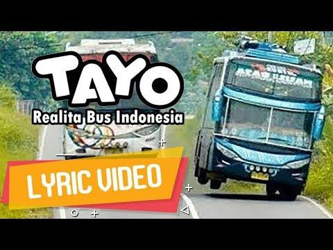 Tayo versi hip hop   ecko show   realita bus indonesia   lyric video