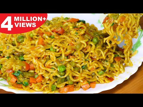 Masala Maggi Recipe | Vegetable Masala Maggi | Easy & Tasty Maggi – Kanak's Kitchen