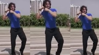 Tiger Shroff Learn The Signature Dance Of Heropanti Song Whistle Baja