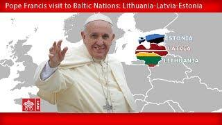 Papst Franziskus - Riga – Willkommenszeremonie 24092018