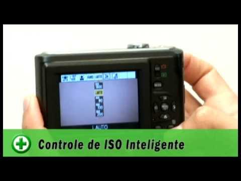 Câmera digital Panasonic Lumix LS85 - BuscaPé Vídeos