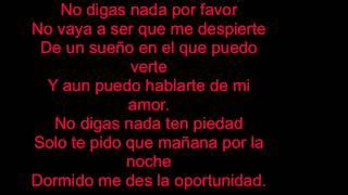 Cali & El Dandee - No Digas Nada Deja Vu (Lyric Video)