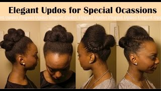 Simple, Elegant Special-Event Hairstyles [For Natural Hair]
