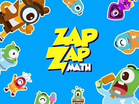 Zap Zap Math K6 Math Games Updated Premium Version! - iPad app demo for kids - Ellie
