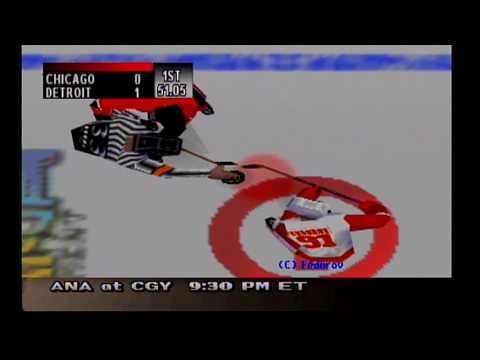 NHL Breakaway 99 - Season Mode (Detroit Red Wings)