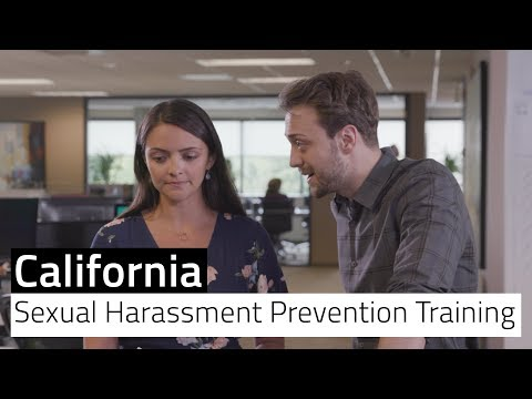 California Sexual Harassment Prevention Training - Free Preview ...